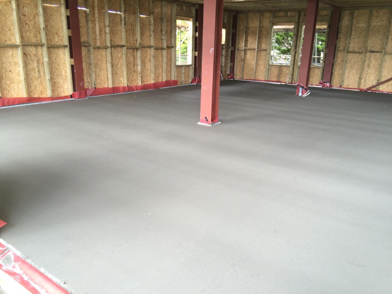 Par Sands ground floor concrete 3