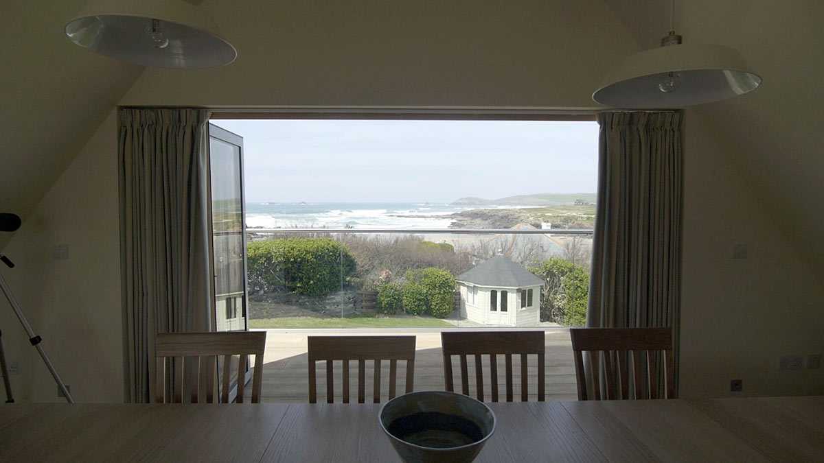 Pentreath treyarnon bay new build landscaping coastal construction north cornwall building builders padstow